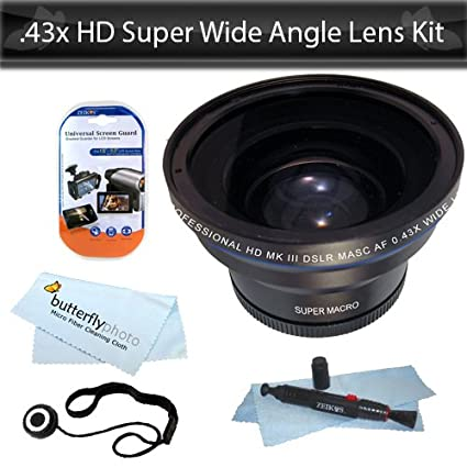 HD Super gran angular panorámico Macro Objetivo ojo de pez para la ...