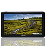 Navigation Systems for Car/Truck, Jimwey 8GB 256MB GPS Navigation for Car, Capacitive Touch Screen Pre-Loaded US/CA/MX Maps, Camera Alerts, Lifetime Free Map Updates (New 7 inch)