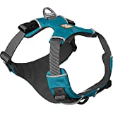 RUFFWEAR - Front Range, Everyday No Pull Dog Harness with Front Clip, Trail Running, Walking, Hiking, All-Day Wear, Pacific Blue, Medium