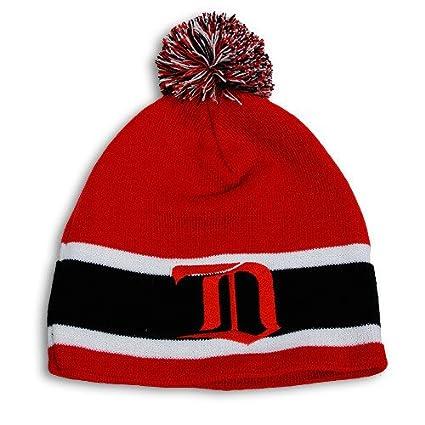 Amazon.com   Detroit Red Wings Gothic D Retro Toque Knit Hat ... f5d77eb1769