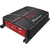 Pioneer GM-A3702 2-Channel Bridgeable Amplifier ,Black/red