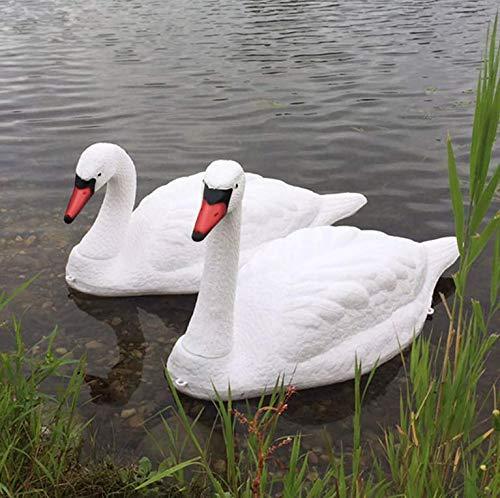 (Floating Swan Decoy - Pair)