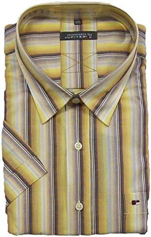 Jupiter Camisa Manga Corta Oversize Rayas, 45/46-55/56:51/52: Amazon.es: Ropa y accesorios