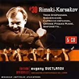 Rimsky-Korsakov: Symphonies (complete) and Orchestral Works