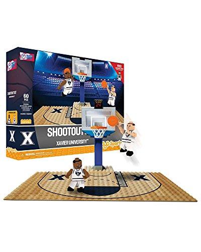 Oyo Sportstoys NCAA Xavier Musketeers Sports Fan Bobble Head Toy Figures, Navy Blue/White, One Size