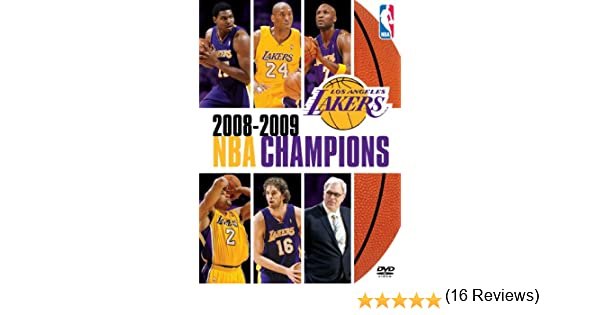 NBA Champions 2008-2009 Los Angeles Lakers Reino Unido DVD: Amazon.es: Kobe Bryant, Pau Gasol, Lamar Odom, Dwight Howard, Phil Jackson, Kobe Bryant, Pau Gasol: Cine y Series TV