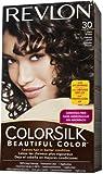 Revlon ColorSilk Hair Color, 30 Dark Brown 1 ea
