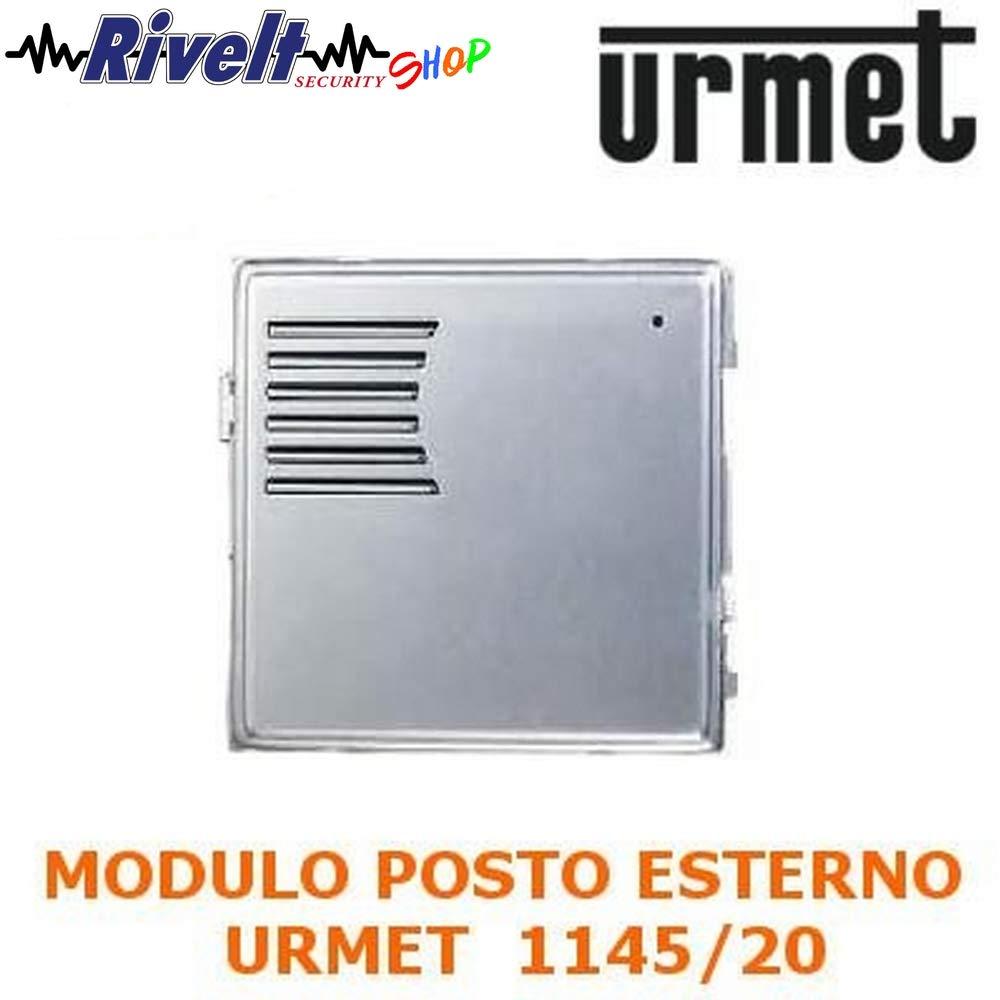 Modulo in alluminio per posto esterno senza pul URMET 1145//20