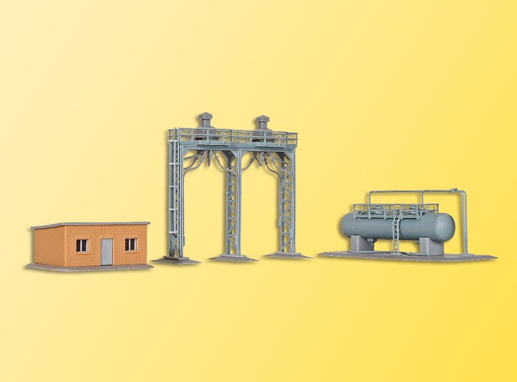 今季ブランド Kibri Kibri キブリ 37444 N N 1/160 鉄道建物関連施設 B004YB4CYQ B004YB4CYQ, カーテンインテリア シロヤマ:f961ca03 --- a0267596.xsph.ru