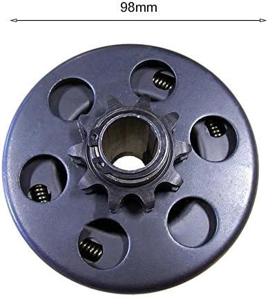 Professionelle Fliehkraftkupplung 3//4Bohrung 10 Z/ähne mit 40//41//420 Kette Go Kart Mini Bike Kleinteile Heavy Duty