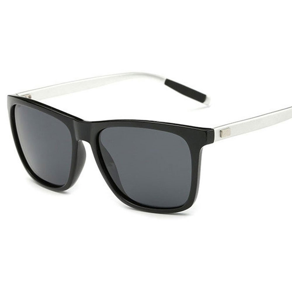 10e86451967 Amazon.com  BRERONE Unisex Polarized Aluminum Sunglasses Vintage Sun Glasses  For Men Women (Black