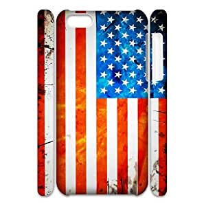 American Flag Personalized 3D Cover Case for Iphone 5C,customized phone case ygtg-773489