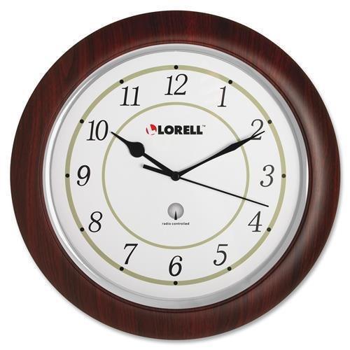 60986 Lorell Radio Control Wall Clock - Digital - Quartz ...