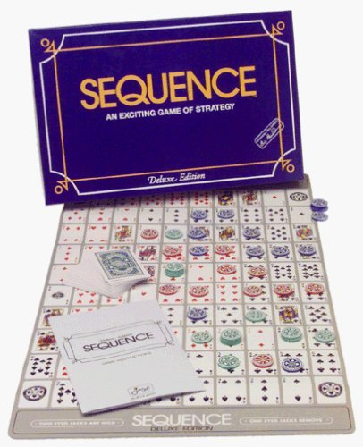 Sequence Game, Deluxe Sequence Tin Board Games at amazon