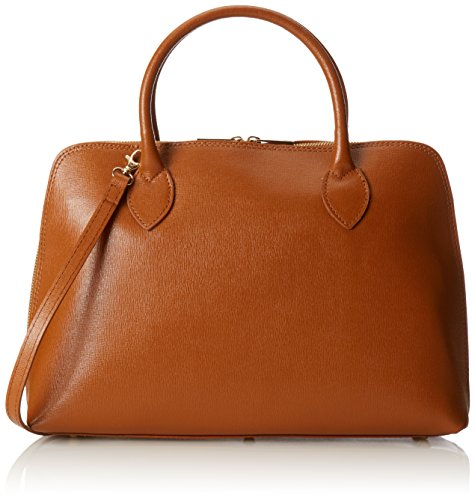 Leather cuoio In Made Orange Blow Ctm Italy 25''x5 60''x10 100 Genuine Bag 14 Inspired 50'' Women Print Hand RfTfSpPF