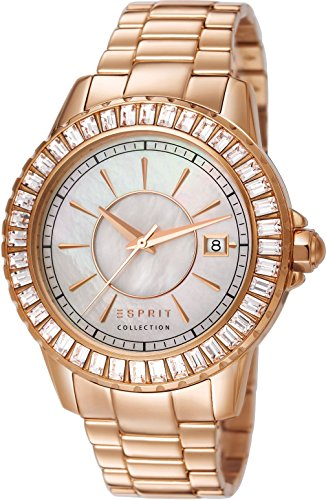 Esprit Collection Women Watch Eurybia rose gold - Esprit Watch Women Gold