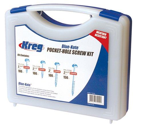 Kreg SK03B Blue-Kote Pocket-Hole Screw Kit by KREG (Image #2)
