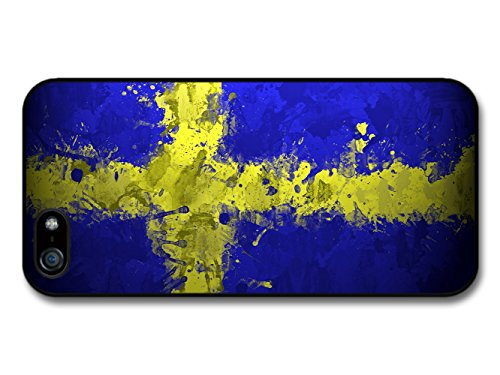 Swedish Flag Sweden Svenska Flaggan coque pour iPhone 5 5S