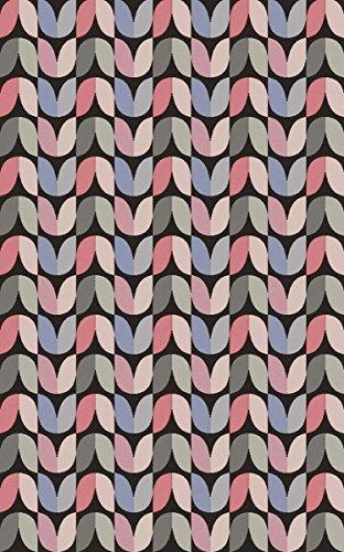 Surya Aimee Wilder NTV7001-811 Hand Woven Geometric Area Rug, 8-Feet by 11-Feet, Light Gray/Coral/Slate