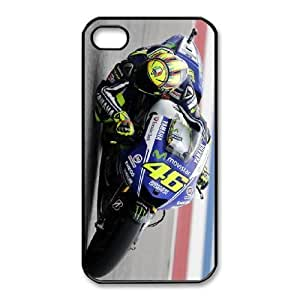 iPhone 4,4S Phone Case Black Valentino Rossi F5948597