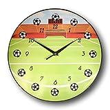 bogo Brands Soccer Ball Wall Clock (13 Inch)
