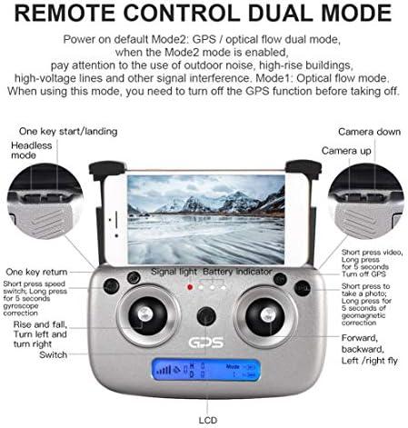 Kaemma SG907 GPS Drone avec 4K / 1080P HD Caméra 5G Anti-tremblement FPV RC Hélicoptère Geste Photo Professionnel Drone RC Jouet Machine
