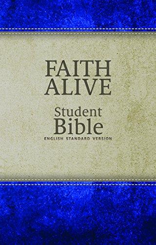 Faith Alive Bible - DuoTone Blue/Tan