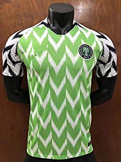 6ada6370d Nigeria 2018 Russia World Cup Jersey Mens Home Adult National Team Soccer  Jerseys Shirt