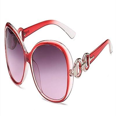 ZHOUYF Gafas de Sol Novedades Moda para Mujer Gafas De Sol para Mujer Conducción Viaje Uv400 Marco Gafas De Sol Mujer Oculos Feminino, G: Deportes y aire libre