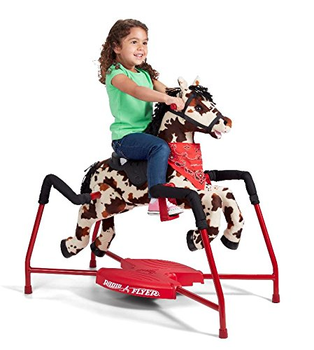 Radio Flyer Freckles Plush Interactive Riding Horse by Radio Flyer (Image #5)