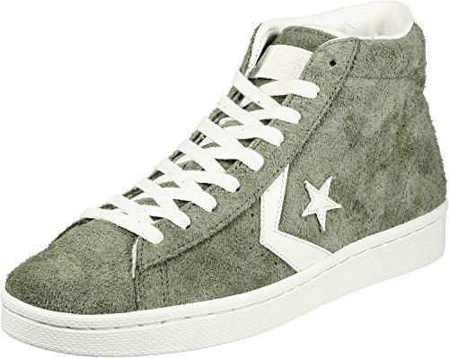 Converse Pro Leather Mid Mens Skateboarding-Shoes 157690C_11 - Medium Olive (Skate Leather Pro)