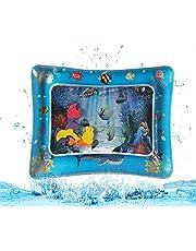 LAPPAZO Tapis de Jeu d'eau Gonflable Tummy Time Centre D'activités sans BPA PVC Anti-Fuite