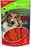 Cheap Carolina Prime Pet 45101 Chicken Breast And Sweet Tater Fillet Treat For Dogs ( 1 Pouch), One Size