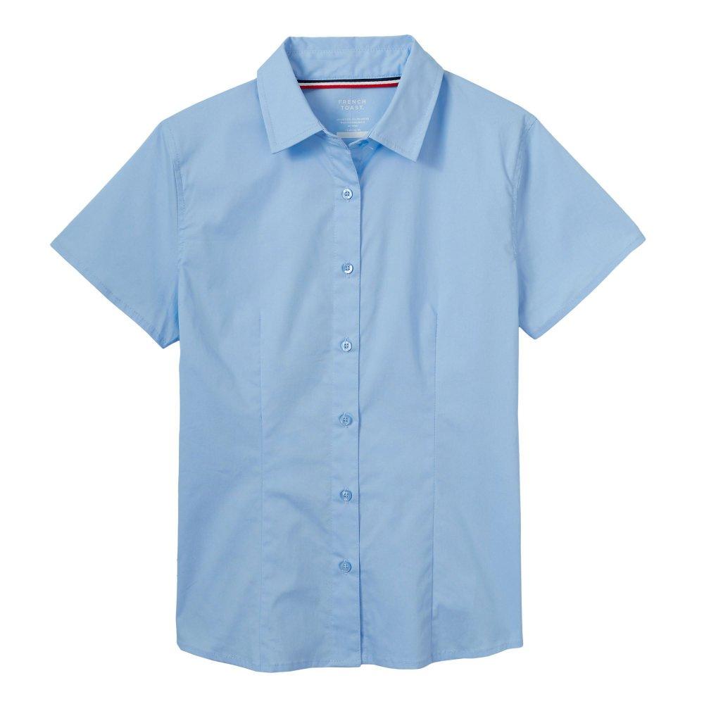 French Toast Girls Short Sleeve Stretch Shirt SE9393