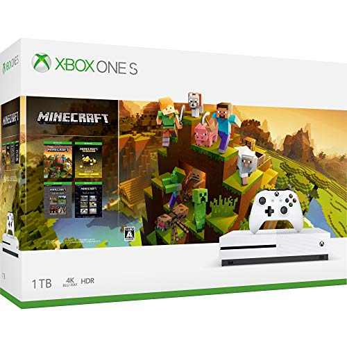 XboxOneS本体 1TB(マインクラフト マスターコレクション同梱版)の商品画像