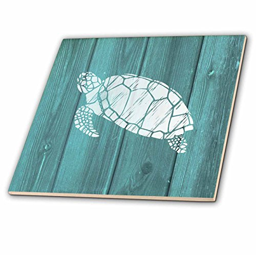 4 Tile Wood Tray - 8
