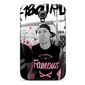 Perfect Cell-phone Hard Covers For Samsung Galaxy S4 (efI11749XpYs) Customized High-definition Blink 182 Band Skin
