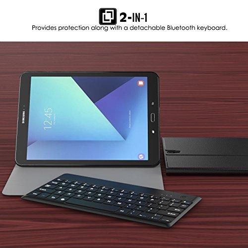 Moko Samsung Galaxy Tab S3 9 7 Case Wireless Keyboard
