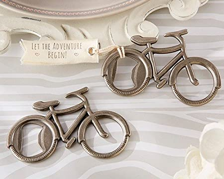 DISOK - Abrebotellas Bicicleta En Caja Regalo