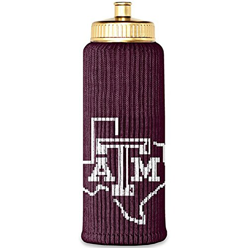 Water Texas Aggies A&m (Texas A&M Aggies Officially Licensed 12th Man Bottle Insulator by Jenkins' Enterprises Game Day Outfitters & Freaker USA)