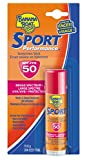 Banana Boat Sunscreen Sport Performance Broad Spectrum Sun Care Sunscreen Stick – SPF 50, 0.55 Ounce
