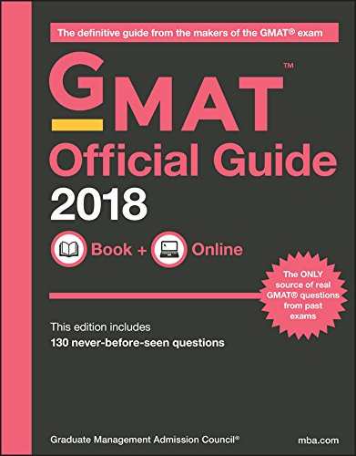 Pdf Education GMAT Official Guide 2018: Book + Online