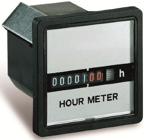 Sesam 1CO 2200 Compteur horaire de fonctionnement 220 VAC 55 x 55 mm