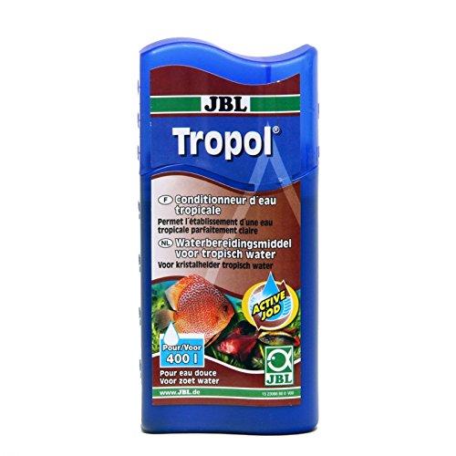 JBL Tropen-Wasseraufbereiter für Süßwasser Aquarien, 250 ml, Tropol 23067