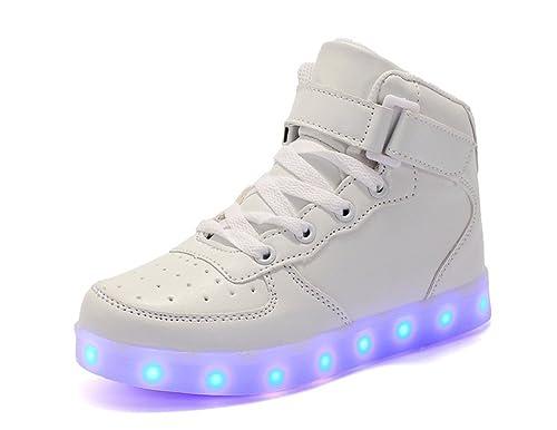 Bambino Luci LED Kok Scarpe Sneakers con Scarpe con Kok Luminosi AwtY6RYq