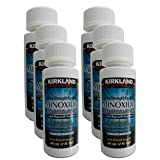 6 Months Kirkland Minoxidil 5 percentage Extra Strength Hair Loss Regrowth Treatment Men, 2 oz (Set of 6)