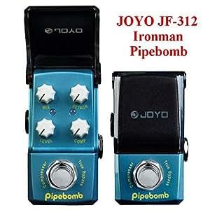 easyshop JOYO Ironman JF-312 Pipebomb Compressor Mini Guitar Effect Pedal