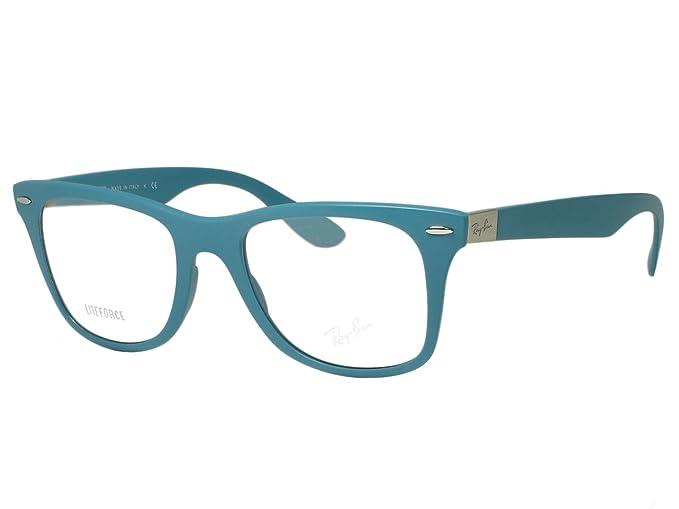 3bb92f303 ... cheap ray ban rx7034 rb7034 eyeglasses liteforce wayfarer 5442 matte  oil 50mm c8edb 45136