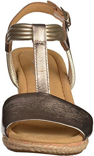 Gabor-2 La 62.828.64 - Sandalias de vestir de Piel Lisa para mujer multicolor multicolor 41.5 EU