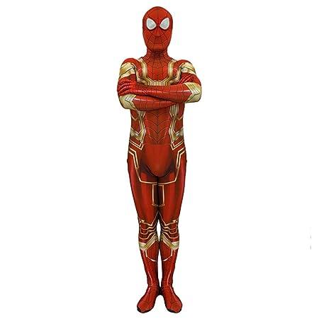 NDHSH Avengers Spiderman niño Adulto Cosplay Disfraces Disfraz ...